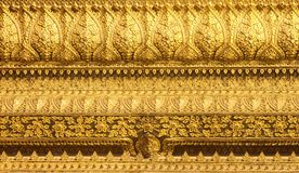 Detail traditional Thai style Royalty Free Stock Photography