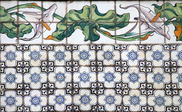 Valencia azulejos Royalty Free Stock Photos