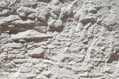 Whitewashed wall Royalty Free Stock Photography