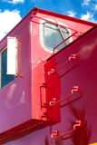 Detail of Train Caboose Royalty Free Stock Photography