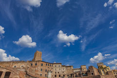 Detail of the Trajan market in Rome Royalty Free Stock Image