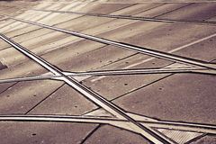 Detail of a tramway (Wien - Austria) Stock Photography