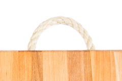 detail treen Ljus naturlig modell för timmer Wood kornbakgrund Rephandtagträskärbräda Royaltyfria Bilder