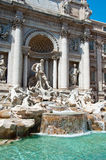 Detail of the Trevi Fountain in Rome, Italy. Royalty Free Stock Photography