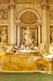 Detail of the Trevi Fountain, Rome, Italy Royalty Free Stock Photography