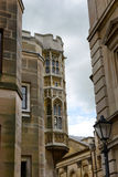 Detail of Trinity College Building Architecture Stock Photo