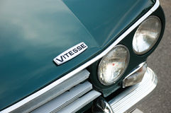 Detail Triumphs Vitesse Lizenzfreies Stockfoto