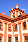 Detail of the Troja Chateau in Prague Royalty Free Stock Photography