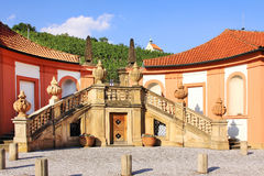 Detail of the Troja Chateau in Prague Royalty Free Stock Images