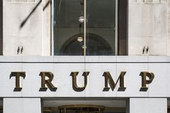 Trump building in New York City Stock Photography