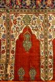 Detail of Turkish Carpet Stock Photo
