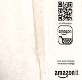 Detail of typical Amazon package Stock Image