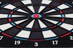 Detail typical dartboard Royalty Free Stock Photo