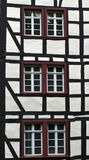 Detail of typical half timbered house Royalty Free Stock Photography