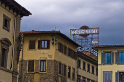 Detail of typical residential architecture at downtown of Florence, Tuscany Royalty Free Stock Photos
