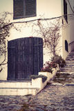 Vintage Cadaques Royalty Free Stock Photography