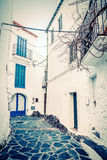 Vintage Cadaques Stock Images