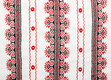 Detail of Ukrainian embroidery Stock Photos