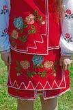 Detail of ukrainian female folk costume 1 Royalty Free Stock Photos