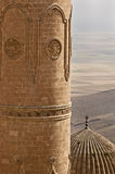 Detail of Ulu Mosque, Mardin-Turkey. The mosque is located in historic core of Mardin. It has numerous inscriptive plaques from the Seljuk, Artuqid, Aq Qoyunlu Royalty Free Stock Photography