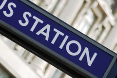 Detail Of Underground Rail Sign, London Stock Photos