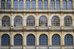 Detail of old building in Colombia royalty free stock photo
