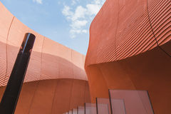Detail of United Arab Emirates pavilion at Expo 2015 in Milan, I Stock Images