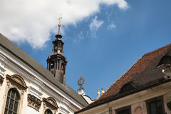 Detail of the university, Wroclaw, Poland Royalty Free Stock Photos