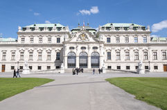 Detail from Upper Belvedere Palace in Vienna Stock Image