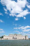 Detail from Upper Belvedere Palace in Vienna Stock Photo