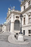Detail from Upper Belvedere Palace in Vienna Stock Images