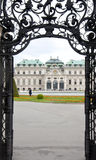 Detail from Upper Belvedere Palace in Vienna Royalty Free Stock Photo
