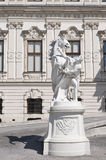 Detail from Upper Belvedere Palace in Vienna Royalty Free Stock Images