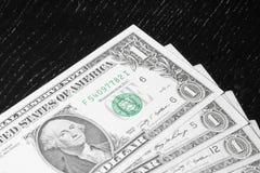 Detail of usa dollars Stock Photos