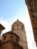 Detail from Valencia Cathedral stock photo