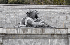Detail  of Valley of the Fallen (Valle de los Caidos), Madrid, S Stock Images