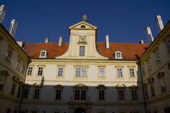 Detail of Valtice palace in South Moravia Stock Photography