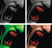 Detail of vampire Stock Images