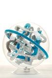 Detail van 3D bal van het spellabyrint Stock Foto