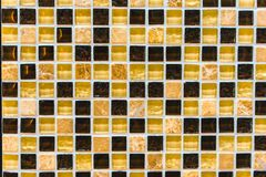 Detail van abstract ceramisch mozaïek Stock Foto