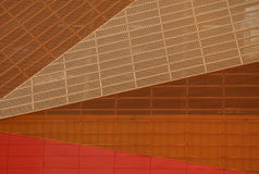 Detail van Agoratheater Stock Foto's