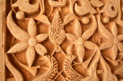 Detail van Alhambra stock foto's
