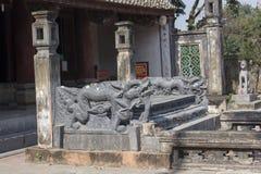 Detail van antiek steenstandbeeld Stock Afbeelding