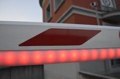 Detail van automatische bar voor auto's stock afbeeldingen