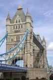 Detail van balken en toren op Torenbrug van de Zuidenbank Londen royalty-vrije stock foto's