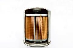 Detail van brandstoffilter voor motorauto Stock Foto