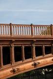 Detail van de Architectuur van de Brug Stock Foto