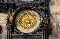 Astronomische klok 3 Stock Afbeelding