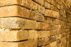 Detail van de baksteen rode muren Royalty-vrije Stock Afbeeldingen