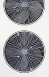 Detail van de buiteneenheid van airconditioningsMAC Stock Afbeelding
